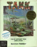 Tank: The M1A1 Abrams Battle Tank Simulation DOS Front Cover