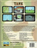 Tank: The M1A1 Abrams Battle Tank Simulation DOS Back Cover
