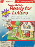 Reader Rabbit's Ready for Letters DOS Front Cover