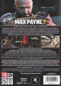 Max Payne 3 Windows Back Cover