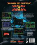 Realms of Chaos DOS Back Cover