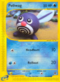 GO, Poliwrath Game Boy Advance Media e-Card 3/6 - Front