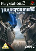 Transformers: The Game PlayStation 2 Front Cover