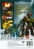 Bionicle Heroes PlayStation 2 Back Cover