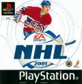 NHL 2001 PlayStation Front Cover