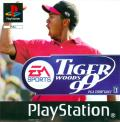 Tiger Woods 99 PGA Tour Golf PlayStation Front Cover
