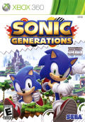 Sonic Generations Xbox 360 Front Cover