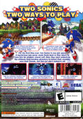 Sonic Generations Xbox 360 Back Cover