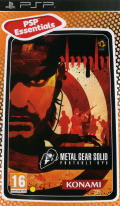 Metal Gear Solid: Portable Ops PSP Front Cover