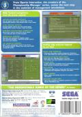 Worldwide Soccer Manager 2005 Macintosh Back Cover