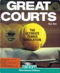 Jimmy Connors Pro Tennis Tour Commodore 64 Front Cover