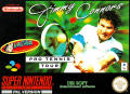 Jimmy Connors Pro Tennis Tour SNES Front Cover