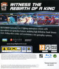 The King of Fighters XII PlayStation 3 Back Cover