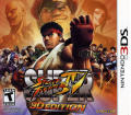 Super Street Fighter IV Nintendo 3DS Other Keep Case - Front