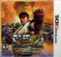Super Street Fighter IV Nintendo 3DS Front Cover