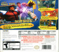 Super Street Fighter IV Nintendo 3DS Back Cover