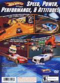 Hot Wheels: Beat That! PlayStation 2 Back Cover