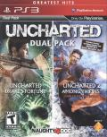 Uncharted: Dual Pack PlayStation 3 Front Cover