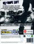 Resident Evil 6 PlayStation 3 Back Cover with cover filter