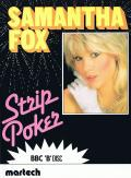 Samantha Fox Strip Poker BBC Micro Front Cover