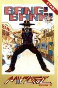 Bang! Bank! Atari 8-bit Front Cover