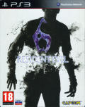 Resident Evil 6 PlayStation 3 Front Cover with cover filter
