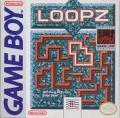 Loopz Game Boy Front Cover
