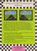 Pole Position Intellivision Back Cover