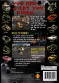 Twisted Metal PlayStation Back Cover