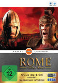 Rome: Total War - Gold Edition Macintosh Front Cover