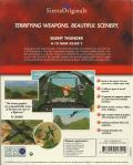 Silent Thunder: A-10 Tank Killer II Windows 3.x Back Cover