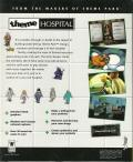 Theme Hospital DOS Back Cover