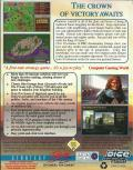 Castles II: Siege & Conquest DOS Back Cover