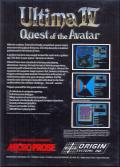 Ultima IV: Quest of the Avatar Atari ST Back Cover