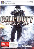 Call of Duty: World at War Windows Front Cover Internal keep case, Front.