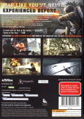 Call of Duty: World at War Windows Front Cover Internal keep case, Back. Same artwork, yet scaled down.