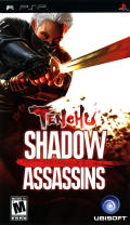 Tenchu: Shadow Assassins PSP Front Cover