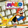 Mario Teaches Typing DOS Front Cover Jewel Case