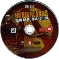 Borderlands: Game of the Year Edition Windows Media Game Disk
