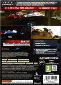 SHIFT 2 Unleashed (Limited Edition) Xbox 360 Back Cover