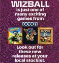 Wizball Commodore 64 Inside Cover