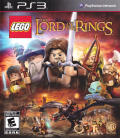 LEGO The Lord of the Rings PlayStation 3 Front Cover