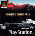 F1 World Grand Prix PlayStation Front Cover