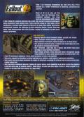 Fallout Tactics: Brotherhood of Steel  Windows Other <i>Fallout 2</i> - Keep Case - Back