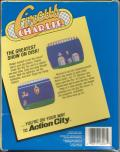Circus Charlie Commodore 64 Back Cover