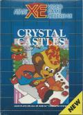 Crystal Castles Atari 8-bit Front Cover