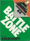 Battlezone Commodore 64 Front Cover