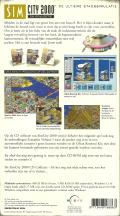 SimCity 2000: CD Collection Macintosh Back Cover