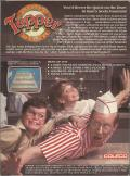 Tapper ColecoVision Back Cover