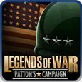 Legends of War: Patton's Campaign PSP Front Cover